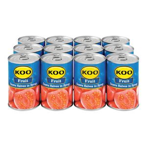 Koo Choice Grade Guava Halve s 410 GR x 12