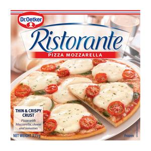 Ristorante Mozzarella Pizza 335g