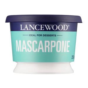 Lancewood Mascarpone Cheese 250g