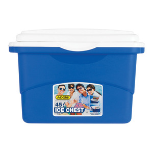 Addis 45l Blue Cooler Box