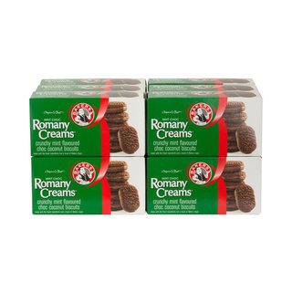Bakers Mint Chocolate Romany  Creams 200g x 12