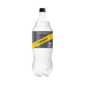 Schweppes Soda Water Plastic Bottle 2l x 36