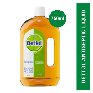 Dettol Antiseptic Liquid 750ml x 6