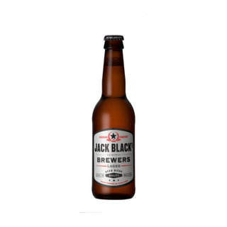 Jack Black Premium Lager Beer 330ml x 24