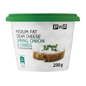 Pnp Low Fat Cream Cheese Spring Onion & Chive 230g