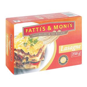 Fatti's & Moni's Plain Lasagne 250g