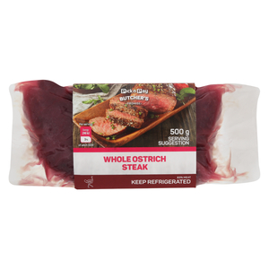 Pnp Ostrich Prime Steak 500g