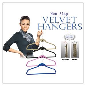 Homemark Velvet Hangers 8ea
