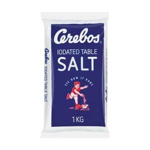 Cerebos Iodated Sea Salt 1kg