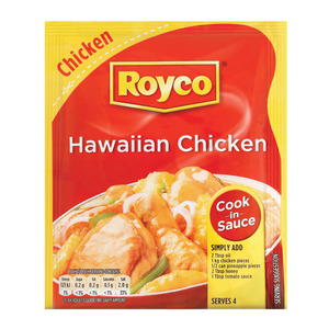 Royco Hawaiian Chicken Cook In Sauce 40g