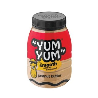 Yum Yum Smooth Peanut Butter 800g x 12