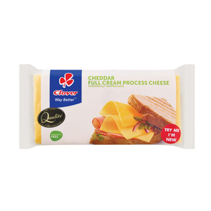 Clover Process Cheddar Slices 400g