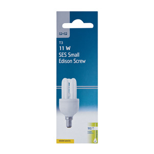PnP Energy Save 11w Warm White Small Screw In