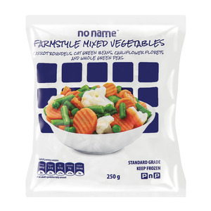 Frozen Farmstyle Mixed Vegetables 250g