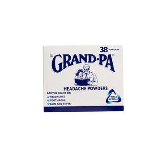 Grand-pa Headache Powders X 38 x 72
