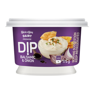 PnP Balsamic And Onion Cream y Dip 175 GR