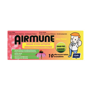 Airmune Effervescent Tablets 10s