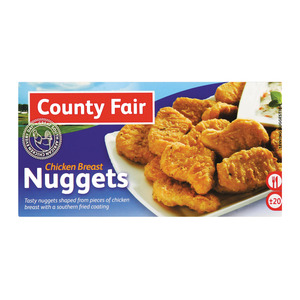 County Fair Chicken Breast N uggets 400 GR