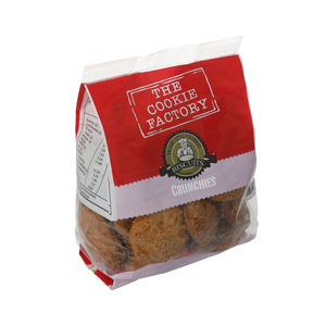 Cookie Factory Crunchies Biscuits 400g