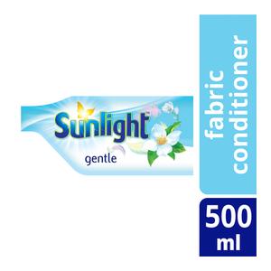 Sunlight Fabric Conditioner Refill Gentle 500ml x 18