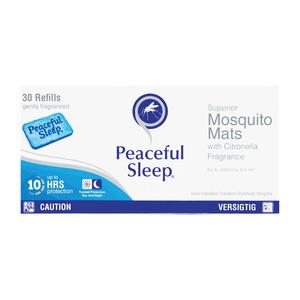 Peaceful Sleep Mosquito Mats 48g