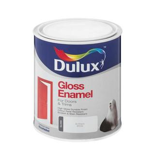 Dulux Gloss Enamel Bril White 1l