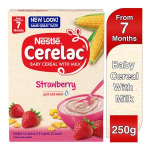 Nestle Cerelac Infant Cereal Strawberry 250g