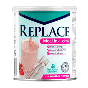 Replace Strawberry Drink 400g