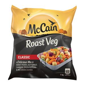 Mccain Roast Vegetables Classic 1kg