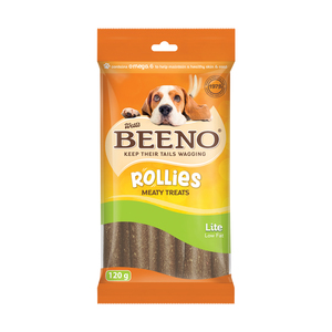 West's Beeno Rollies Light And Tasty  120g