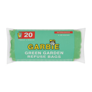 Garbie Strong Garden Refuse Bag Roll 20