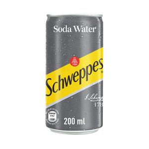 Schweppes Soda Water Can 200ml
