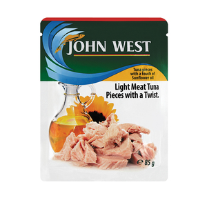 John West Tuna Pouches In Oil 85g