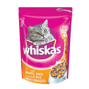 Whiskas Chicken Duck And Rice Cat Food 1kg