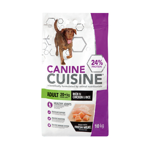 Canine Cuisine Adult Lrg Chick&rice 10 Kg