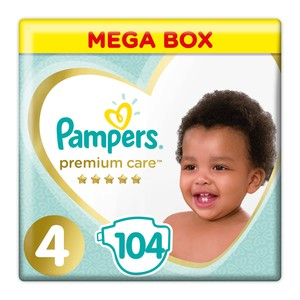 Pampers Premium Care Size 4 104ea