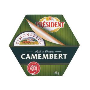 Simonsberg Traditional Camembert Cheese 125g