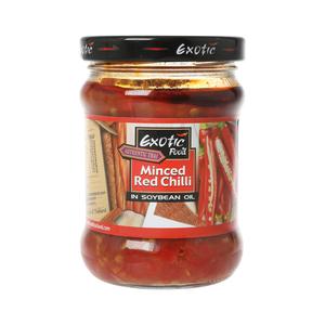 Exotic Foods Red Chilli I Soya Oil 195ml