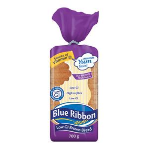 Blue Ribbon Brown Plus Low Gi Bread 700g