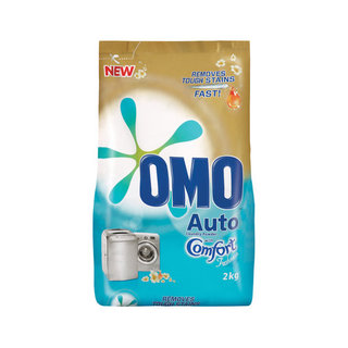Omo Auto Washing Powder With Comfort 2kg