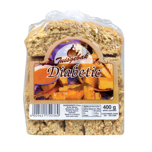 Tuisgebak Bakery Diabetic Rusks 400g