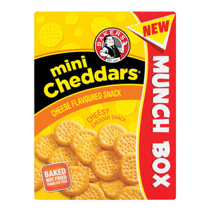 Bakers Mini Cheddars Savoury Cheese 200g