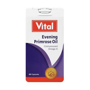Vital Evening Primrose Oil Capsules 60ea