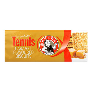 Bakers Biscuits Tennis Caramel 200g