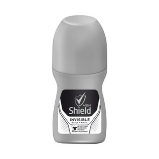 Shield Anti-Perspirant Roll-On Invisible for Black & White 50ml x 6