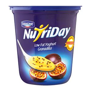 Danone Nutriday Low Fat Granadilla Yoghurt 1kg