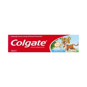 Colgate Bubble Fruit Fluoride Antic Avity Toothpaste For Kids 50ml