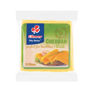 Clover Cheddar Cheese Slices 200g