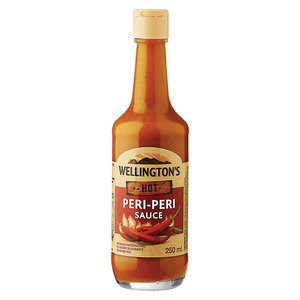Wellington's Hot Peri Peri Sauce 250ml