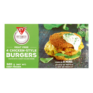 Fry's Chicken Style Burger 320g x 10